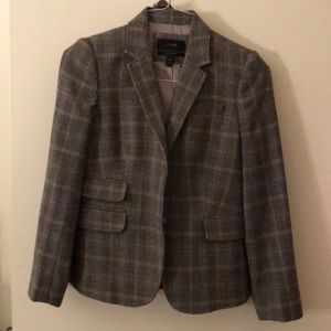 J Crew tweed schoolboy blazer